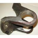 Фланец-вилка карданного вала (под крестовину 52) Ф180х52 4 отверстия HOWO